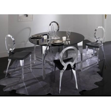 Tavolo con sedie moderno mobili monaco for Tavolo con sedie moderno