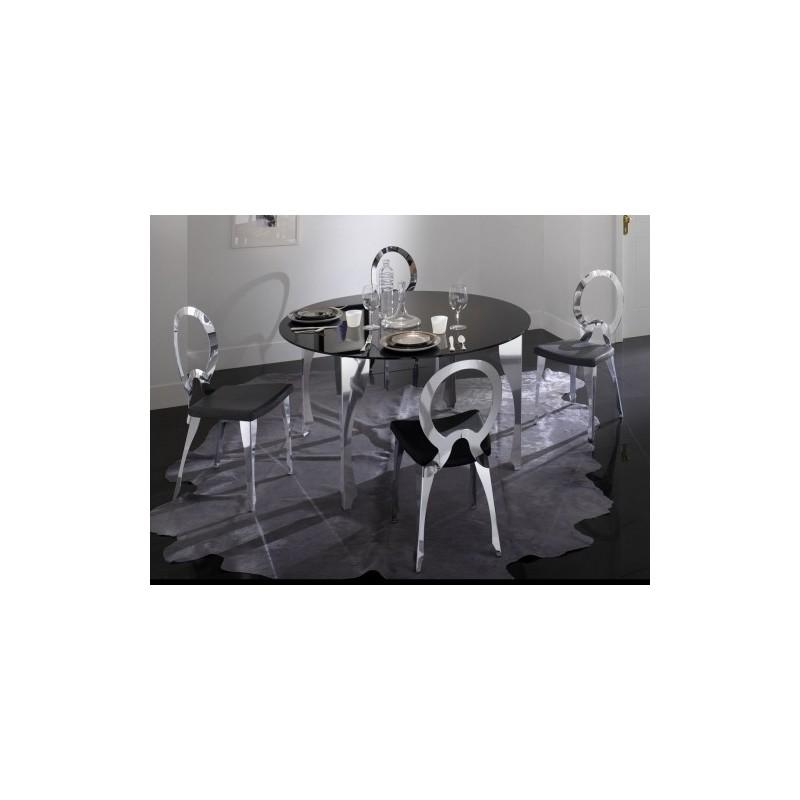 Tavolo con sedie moderno mobili monaco - Dwg tavolo con sedie ...